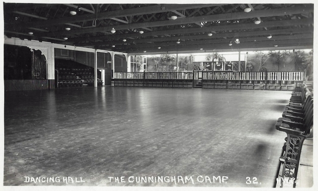 The Concert Hall cleared for a dance