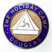 Enamel camp badge