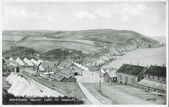 Howstrake camp on the Isle of Man