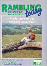 Rambling today. Autumn 1991. Cover- the Withyham Valley on the north edge of Ashdown Forest