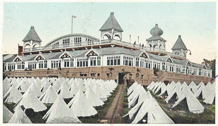 The Cunningham Camp at Little Switzerland on the Isle of Man had 1500 tents and bungalow accommodation