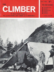 The Climber, May 1966. Cover- Camp cook