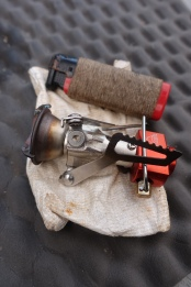 MSR Pocket Rocket and Torjet lighter were part of my cook kit. Both tried and trusted items