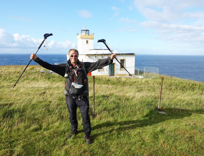 Duncansby Head- the end of my trail