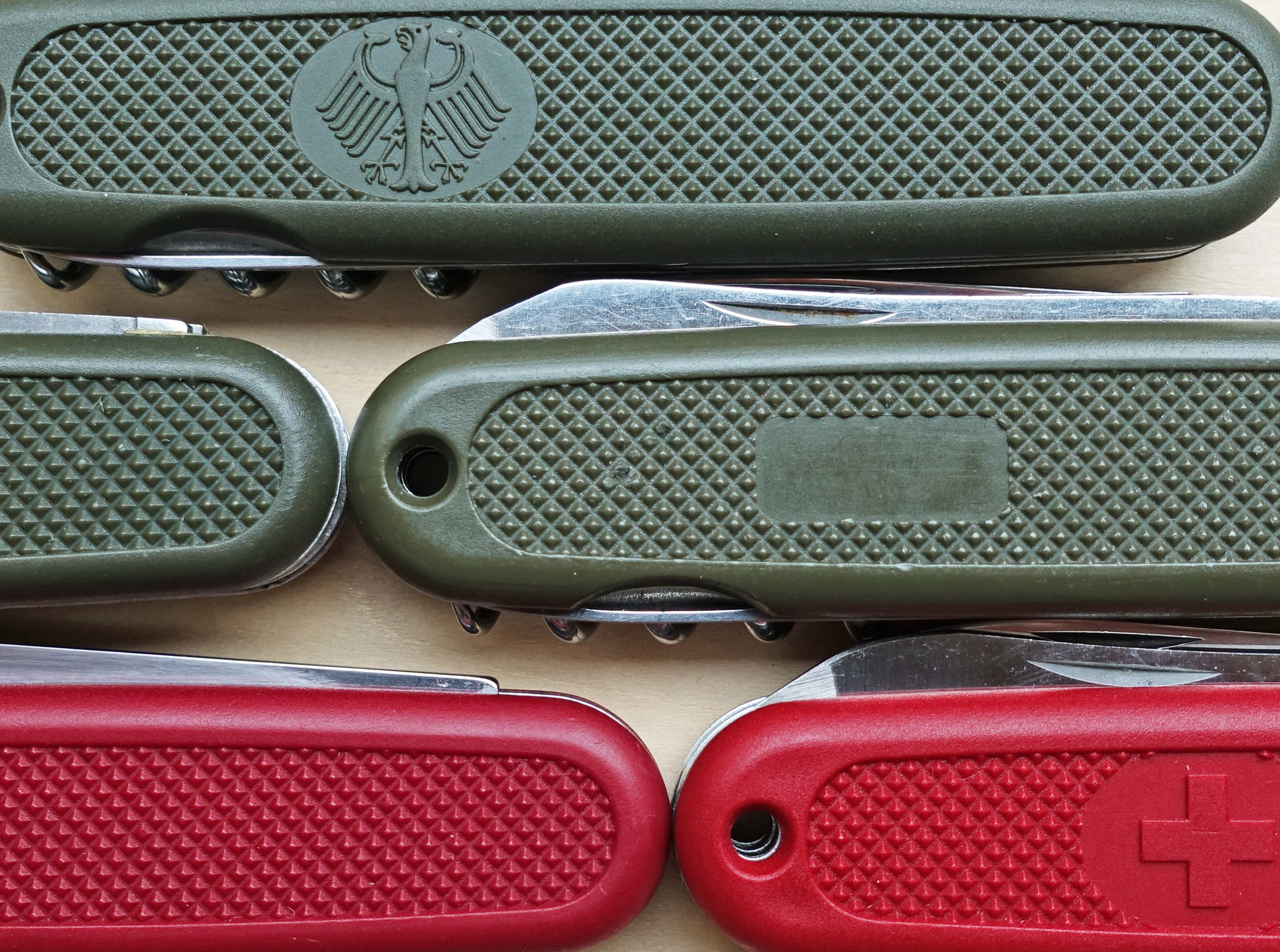 Victorinox German Army Knife and Safari derivatives