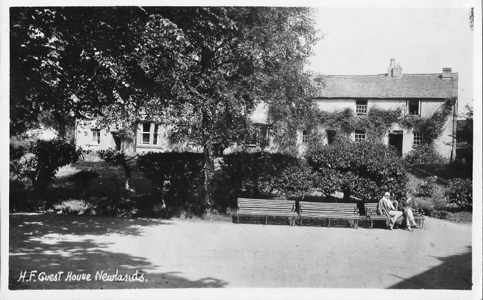 Newlands Centre in Keswick, English Lake District. Maud, writing from here to her friend Della in 1932 records: