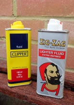 Just about any good quality lighter fluid can be used in liquid fuel lighters