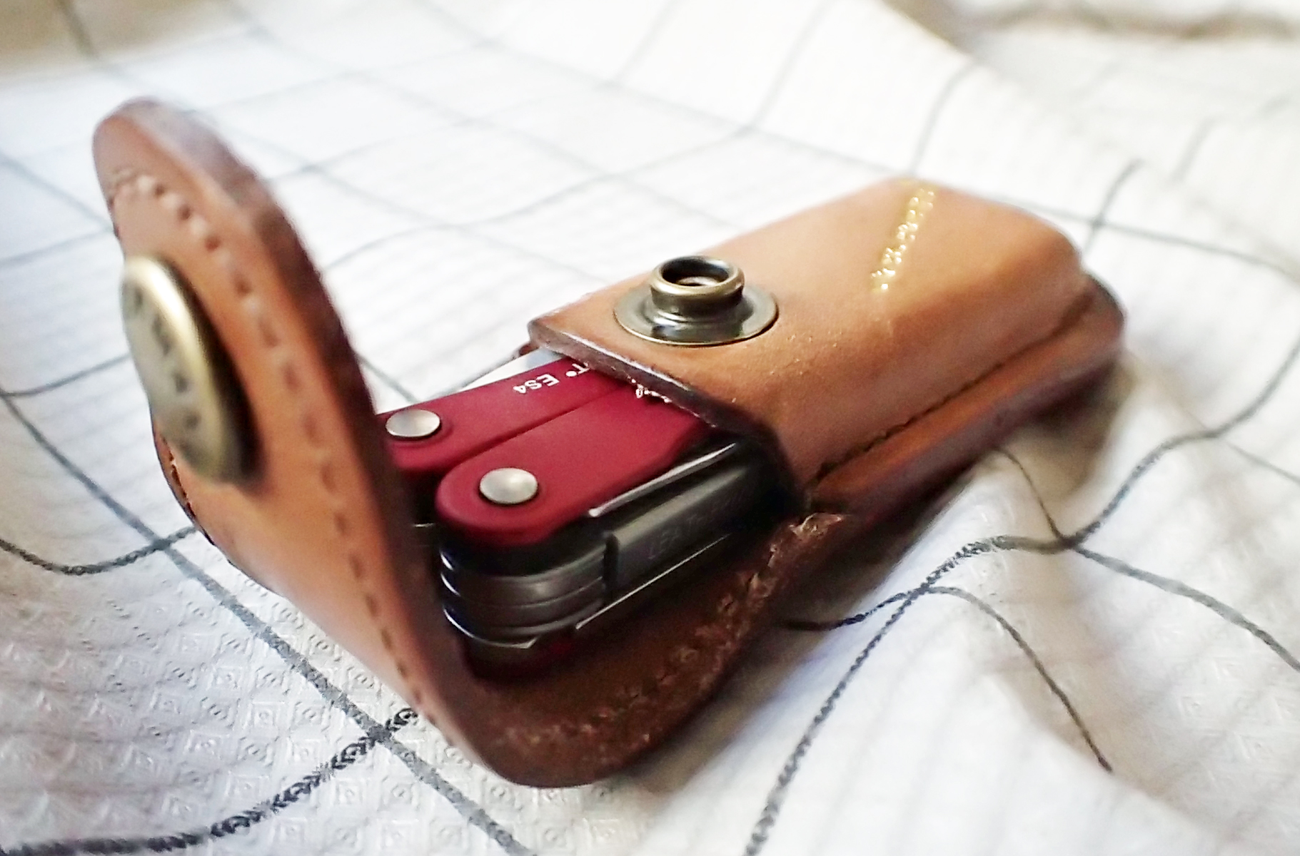 While you may not choose to carry one of the small Leatherman multi-tools as part of your hiking gear, they make great EDC items. Whichever you may purchase, one of the X-small leather Heritage sheaths produced by Leatherman to celebrate their 35th birthday in 2018 makes a great holder