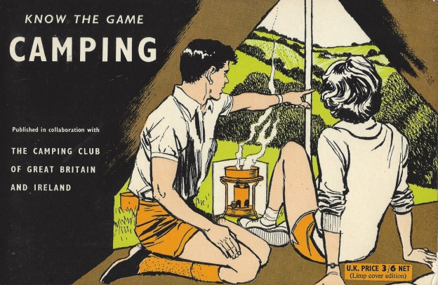 First published in 1962 and reprinted 1963, Know the Game- Camping offered sage advice to the beginner and was a collaboration with The Camping Club of Great Britain and Ireland
