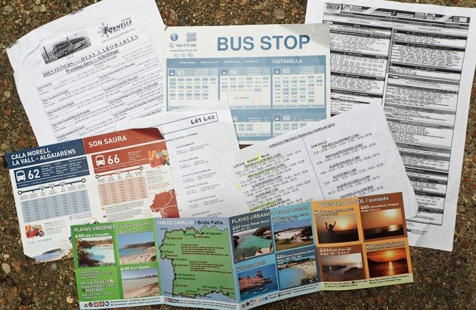 It is wise to pick up any bus timetable you can find when in foreign climes. You can discover practical and useful alternatives that aren't always obvious from scant web-based pages