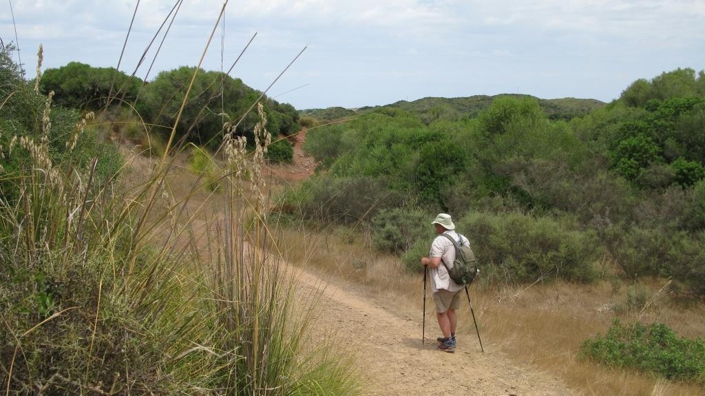 Dusty trails- on the GR223, Menorca
