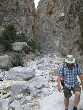Samaria Gorge, Crete, 2013