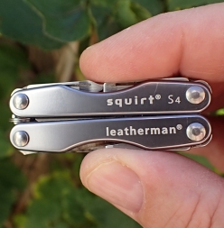 Still looking good after thousands of trail miles, the Leatherman S4 remains a favourite for Three Points of the Compass