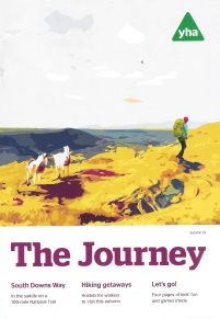 The Journey, magazine of the YHA, Autumn 2019. Cover: Wild horses, Brecon Beacons National Park