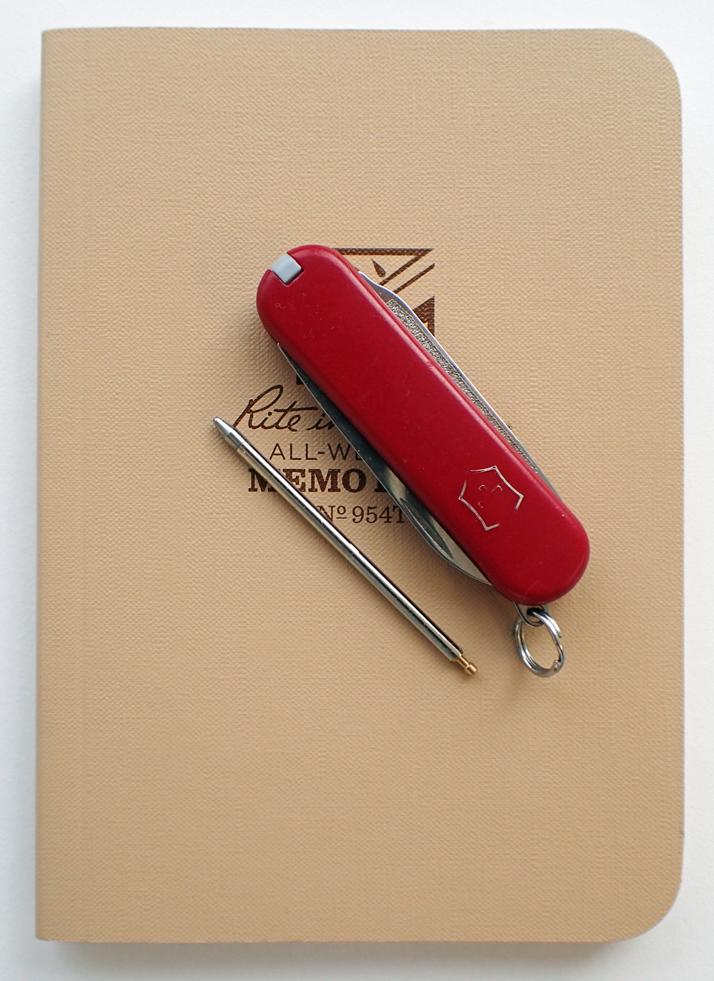 Victorinox Scribe with minuscule pen removed
