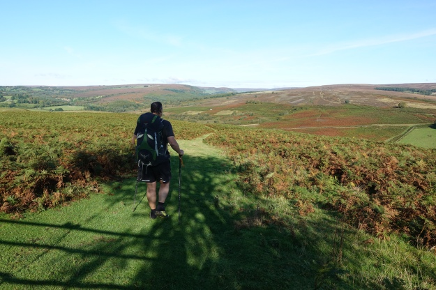 Great walking through the table like (tabular) hills out of Hutton-le-Hole