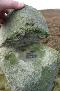 The 18th century Guide Stone was a welcome aid to those traversing the moorlands in the mist