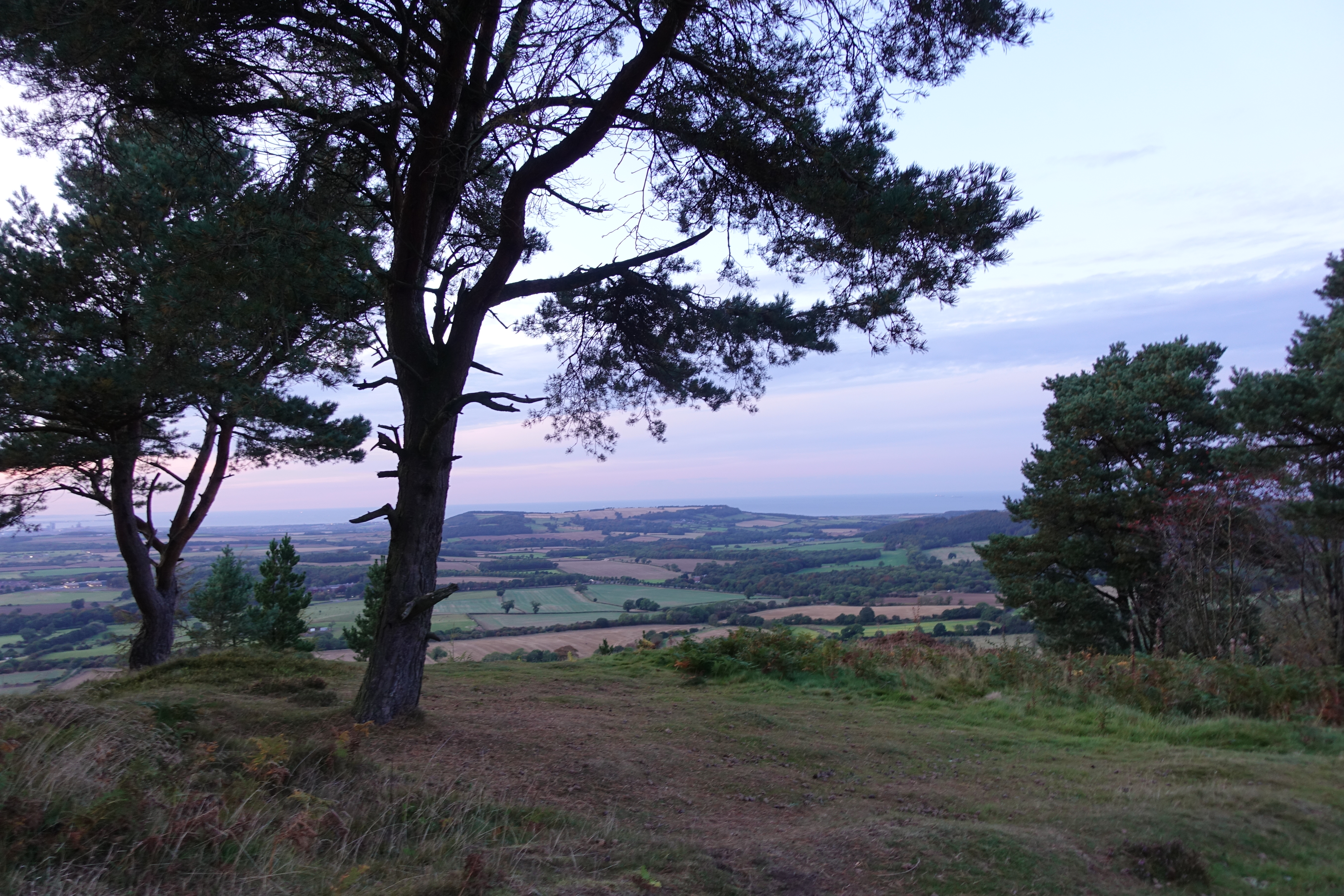 There is seldom the need to wildcamp on the Cleveland Way but there are some great sites where it would be possible