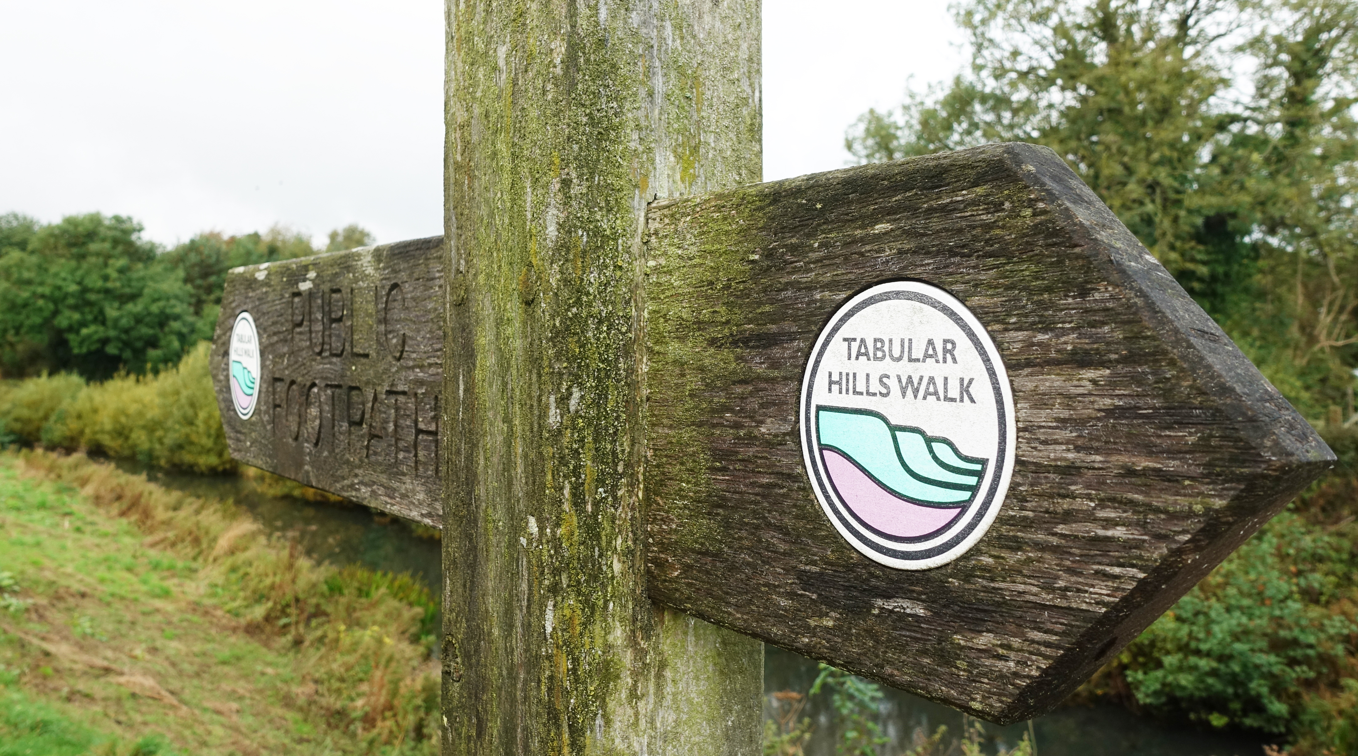 The Tabular Hills walk is pretty well sign posted throughout its fifty miles