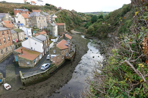 Crossing the Staithes Beck in to town on my first day on the coastal path