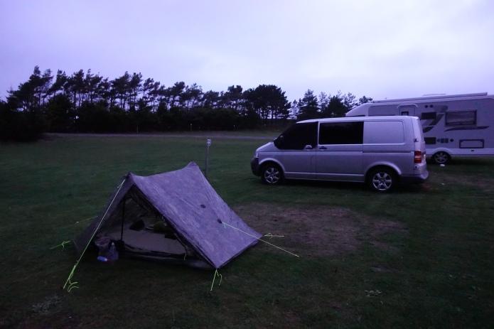 Pitch at Runswick Bay