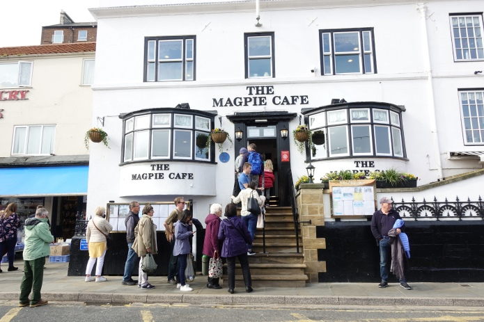 The fantastic Magpie Cafe- an unmissable lunchtime halt