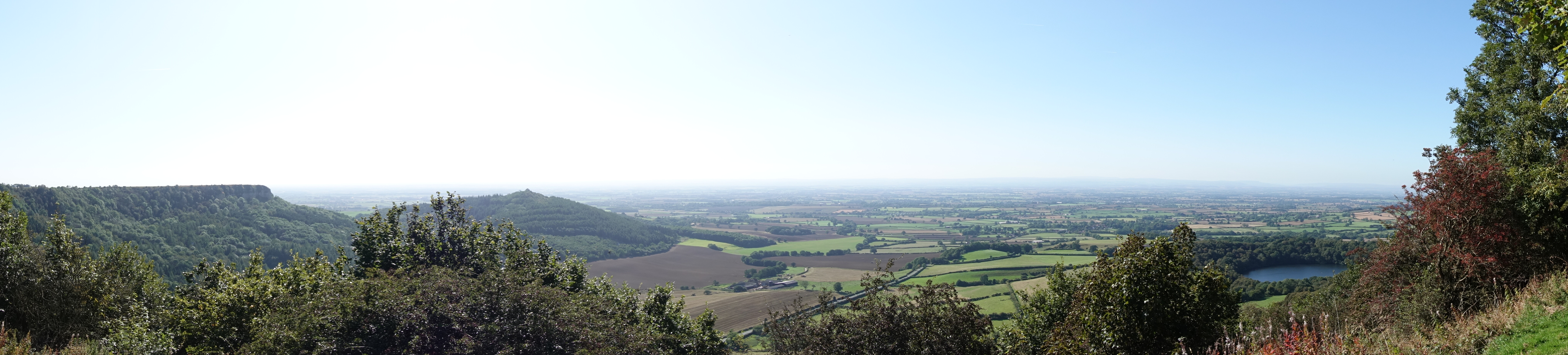 James Herriot proclaimed that standing on Sutton Bank offered the 'Finest View in England'