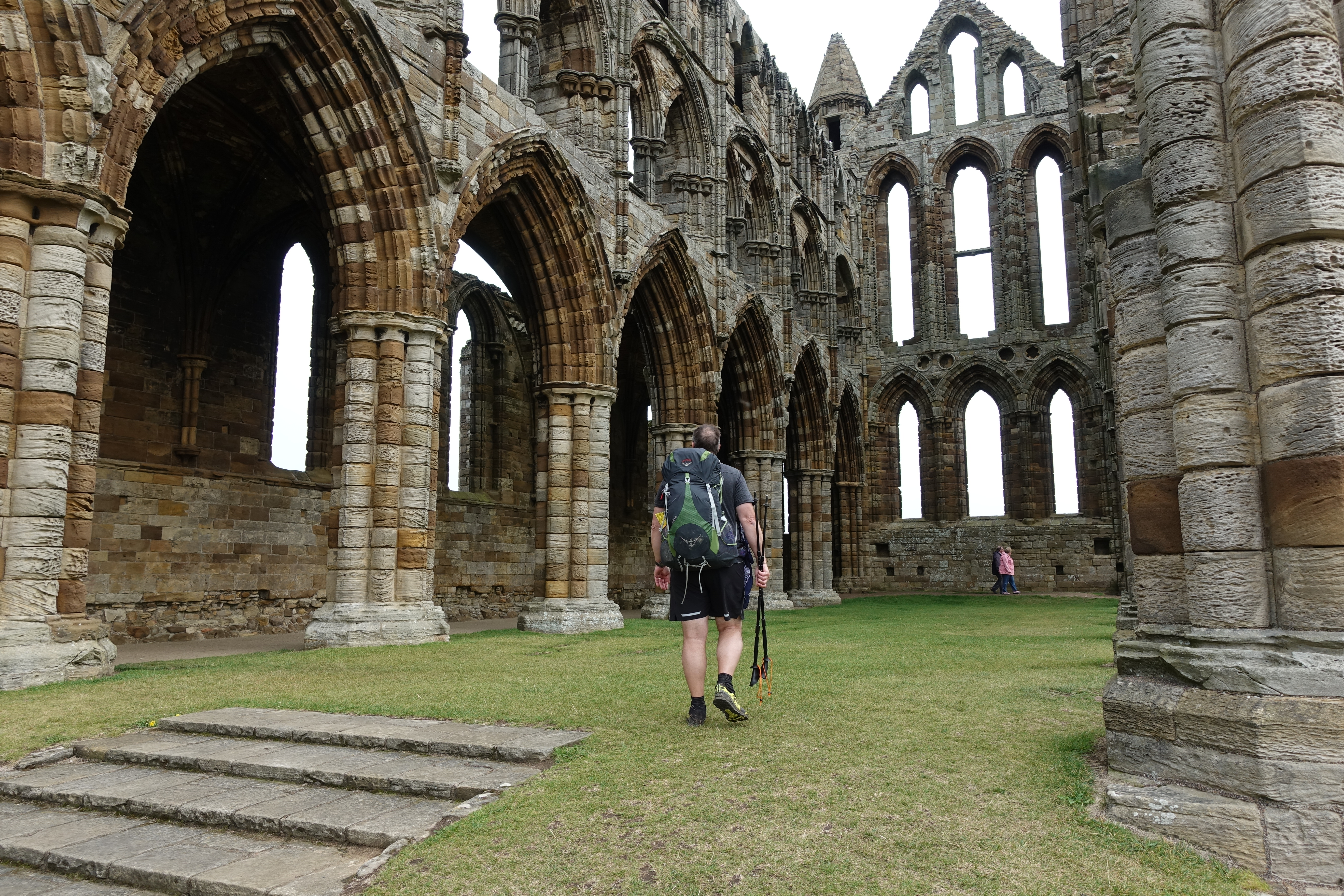 The Cleveland Way brushes right past Whiby Abbey and Three Points of the Compass took time off from trail to explore