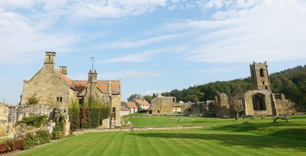 Founded in 1398, Mount Grace Priory is the best preserved of the nine medieval Carthusian charter houses in England