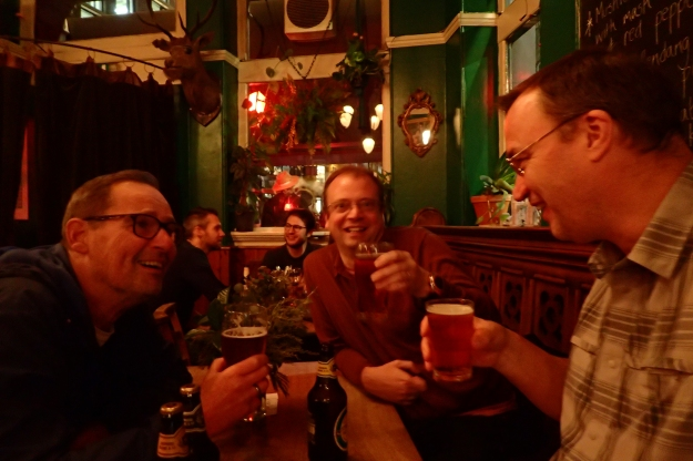 Final pints of the walk were enjoyed in the Betsey Trotwood