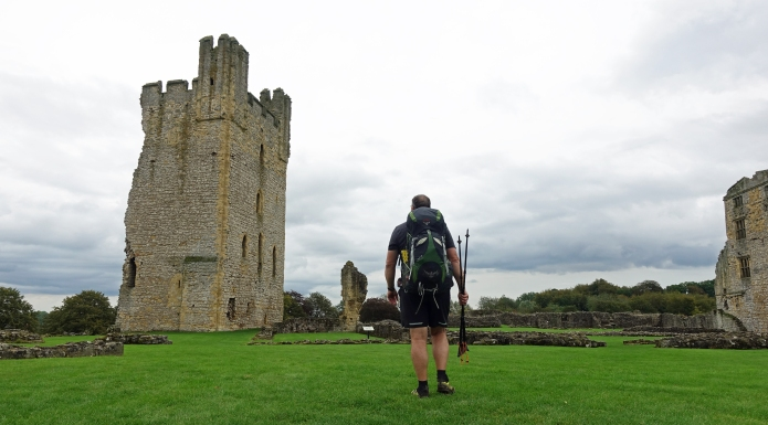 Built around 1200, Helmsley Castle was visited on the final day on trail. It had a chequered history but Three Points of the Compass was especially taken with the fact that the central courtyard was a tennis court for the local gentry for a number of years