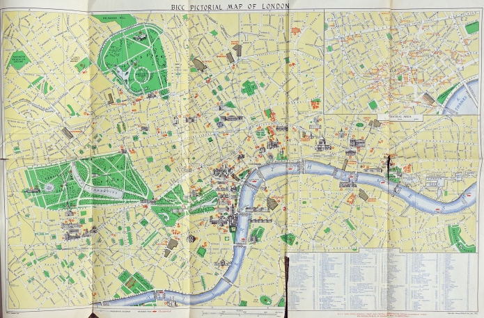 British Insulated Callender's Cables Limited 1953 Coronation London Map