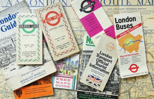 Free maps for exploring London