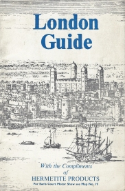 Complimentary map booklet produced by Hermetite for it's customers in 1961