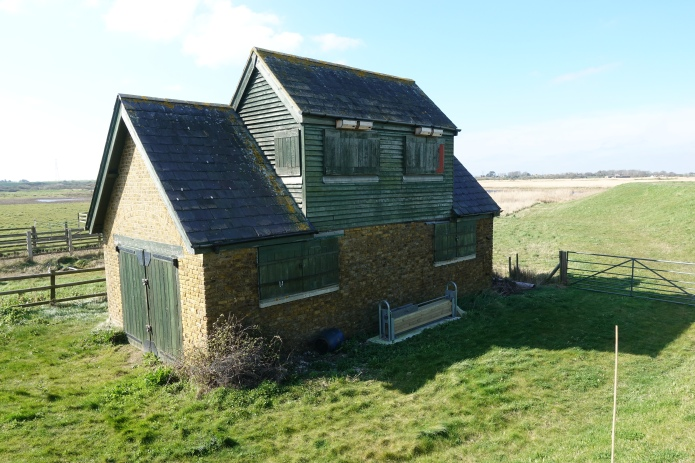 The Old Watch House at Oare Marshes