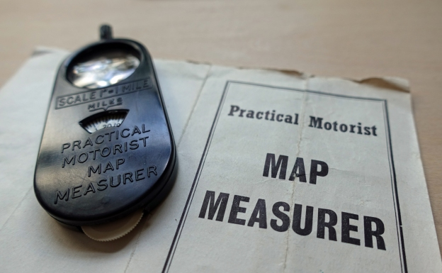Practical Motorist map measurer