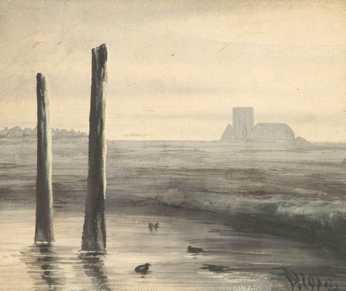 Marsh Scene, by Denham Jordan