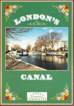 Free London canals leaflet, Produced and printed by the London Canals Committee, 1988