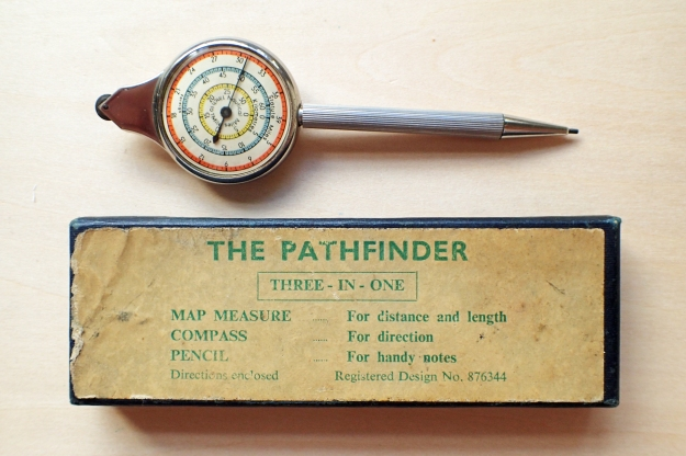 Pathfinder Three-in-One with propelling pencil