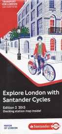 2015 Santander Cycle Hire leaflet