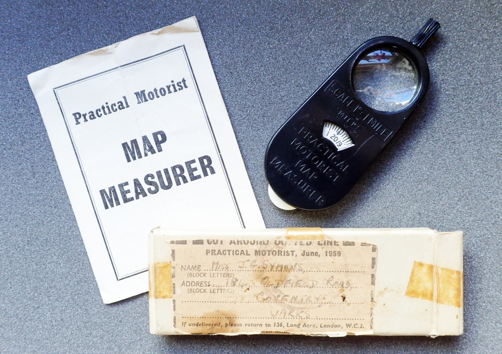 The 1959 Practical Motorist Map Measurer