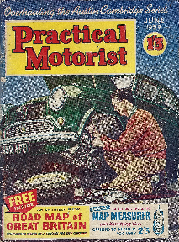 Practical Motorist magazine. June 1959