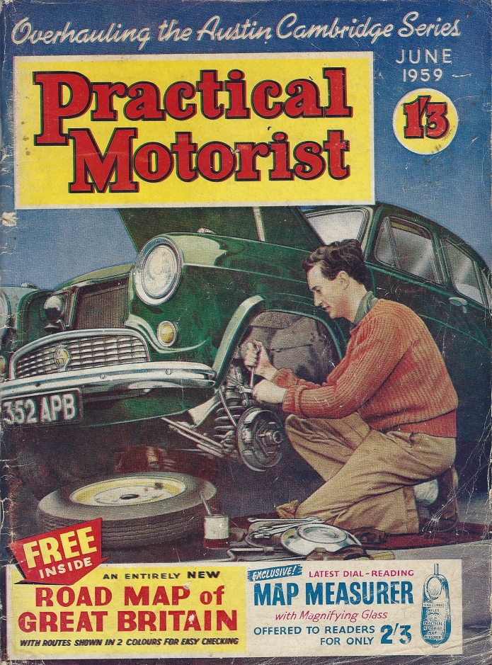 Practical Motorist magazine. June 1959