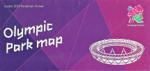 Olympic Park map. Specifically prepared in support of the Paralympic Games that took place 29 August to 9 September 2012