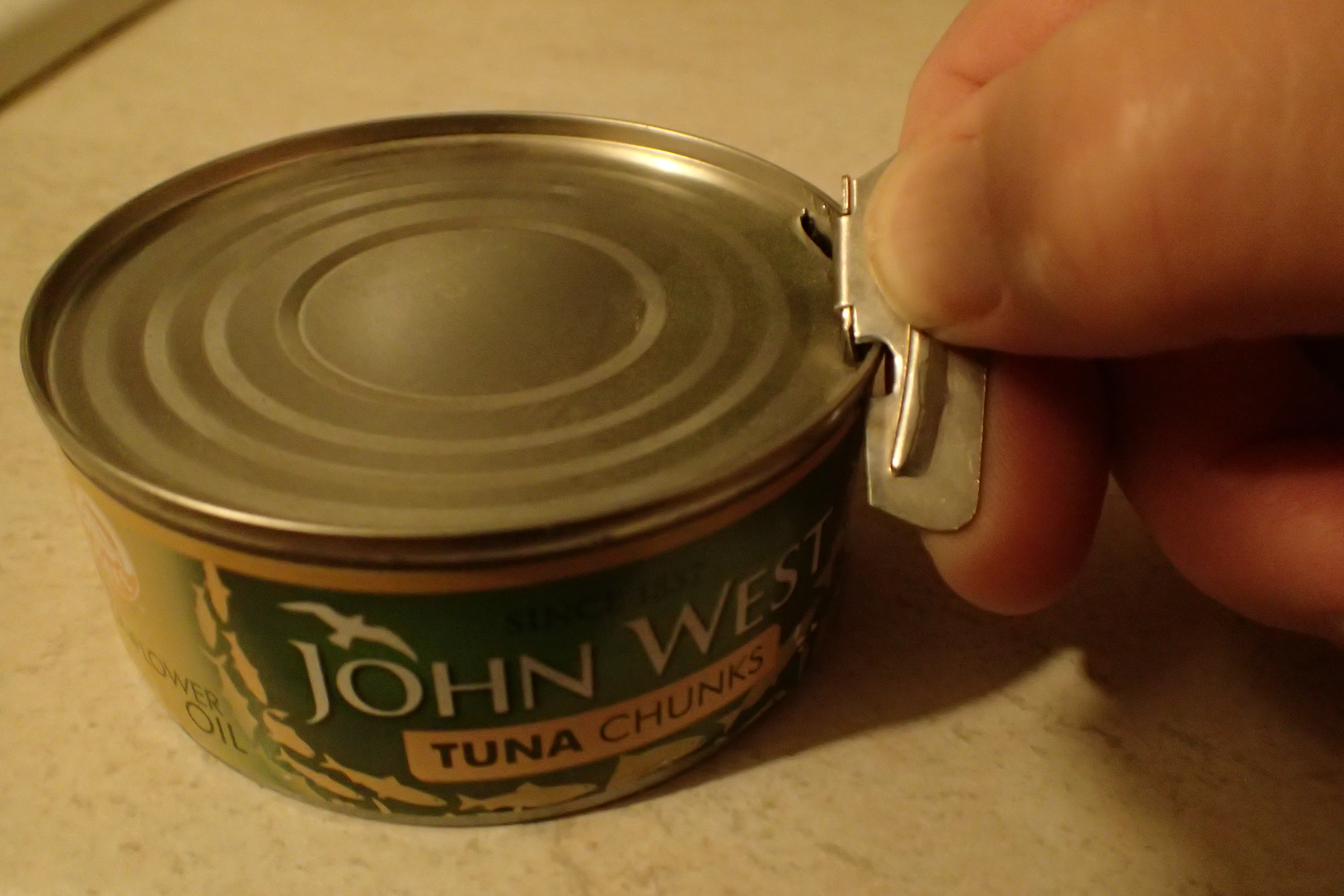 Not every tin of food comes with a ring pull. Without a tiny lightweight opener, gaining access is difficult