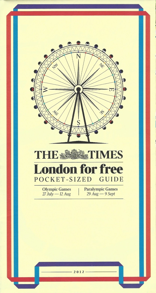 Careful to not use any official branding, for which a licencing fee would have ben required, The Times newspaper gave away a free 'London for free' map in 2012