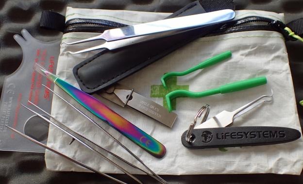 Selection of Tick Tweezers