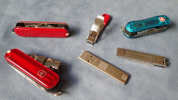 The six choices in nail clipper covered in this blog