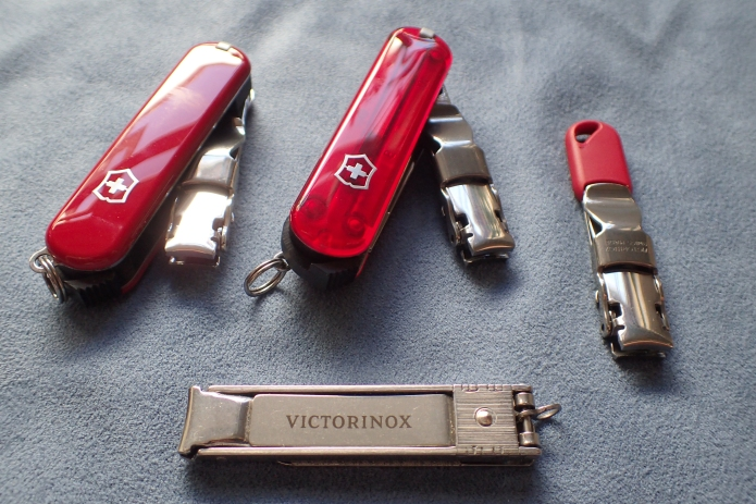 Victorinox offer a wider range than those shown here, but these are most suited for backpacking purposes