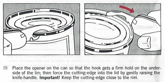 Victorinox's instructions on how to use its combination tool, as found on its 84mm Alox Bantam